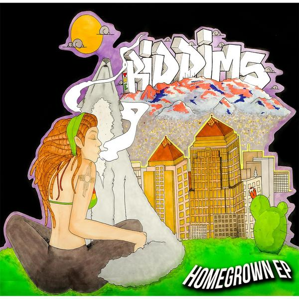 The Riddims Homegrown EP cover